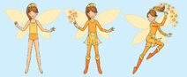 Amber paper doll