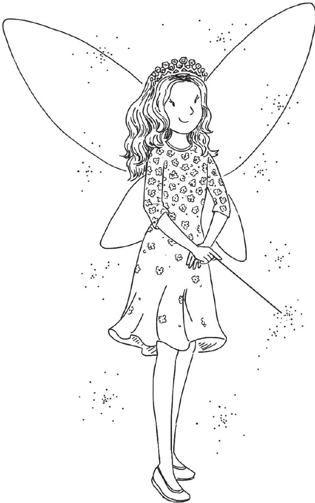 coloring pages rainbow fairies | Charlotte the Baby Princess Fairy | Rainbow Magic Wiki ...