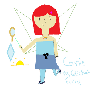 Connie the Cutie Mark Fairy drawn by Destiny