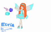 Elicia drawn by Amathist1998