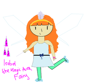 Isobel the Magic Aura Fairy drawn by Destiny