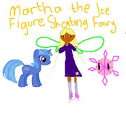 Martha the Ice Figure Skating Fairy