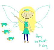 Perry the Platypus Fairy drawn by Destiny