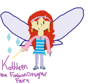 Kathleen the Fashion Designer Fairy drawn by Destiny