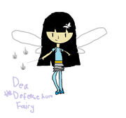 Dea drawn by Destiny the Pop Star Fairy