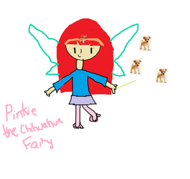 Pinkie the Chihuahua Fairy drawn by Destiny