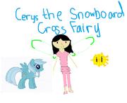 Cerise the Snowboard Cross Fairy