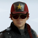 Ash Gold Star Headgear