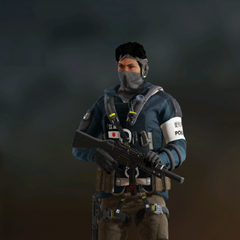 Echo armed with MP5SD (Post-Blood Orchid)