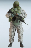 Tachanka Hailstorm Uniform