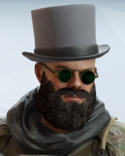 Blackbeard Ascot Headgear