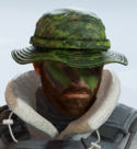 Buck Bold Cedar Headgear