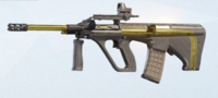 Gold Dust AUG A2 Skin