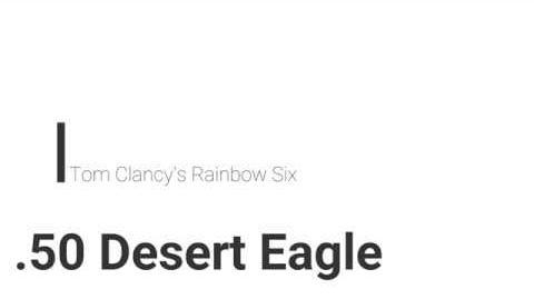 Desert Eagle/R6