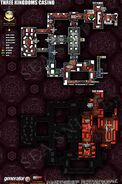 Three Kingdoms Casino Map Layout