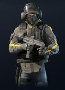 R6 Bandit MP7