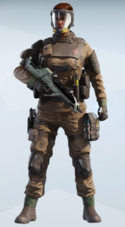 Finka Barren Blowback Uniform