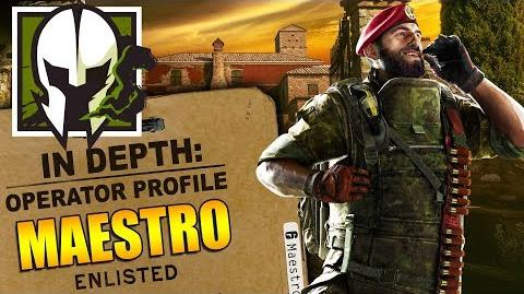 Rainbow Six Siege - In Depth How to Play MAESTRO - Operator Profile