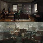 Headquarters Concept Art 2