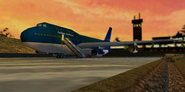 Aolian Airlines plane