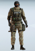 Twitch GIGN Desert Clay Uniform