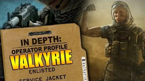 Rainbow Six Siege - In Depth Operator Profile VALKYRIE
