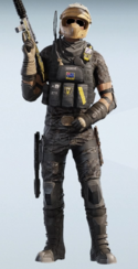 Mozzie Full Moon Road Uniform