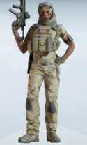Valkyrie Sandroot Uniform