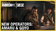Rainbow Six Siege Operation Ember Rise – Amaru & Goyo Trailer Ubisoft NA