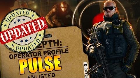Rainbow Six Siege - In Depth- UPDATED Operator Profile - PULSE