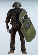 Blitz Felsen Uniform