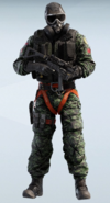 SAS Dark Woodland Mute Uniform