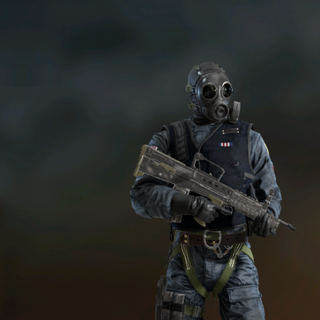 Thatcher armed with an <a href=