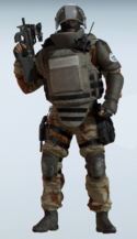 Rook Saharan Courage Uniform
