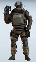 Rook Saharan Courage Uniform