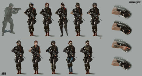 Ash Concept - Alternative Designs