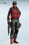 Ash Scarlet Punch Uniform
