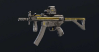 Gold Dust MP5K Skin