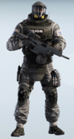 Lion Volatile Gray Uniform
