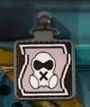 Mute's Icon Charm