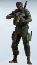 Capitao BOPE Jungle Fatigues Uniform