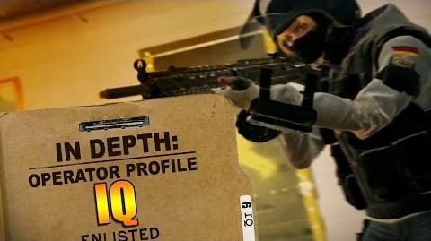 Rainbow Six Siege - Operator Profile IQ-0