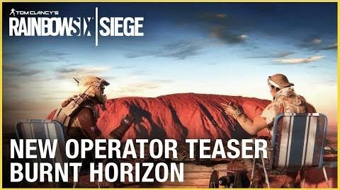 Rainbow Six Siege New Operator Teaser - Operation Burnt Horizon Ubisoft NA