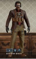 Warden Dapper Garb Uniform