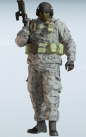 Glaz Hailstorm Uniform