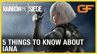 Rainbow Six Siege 5 Things to Know About Iana w Get Flanked Ubisoft NA
