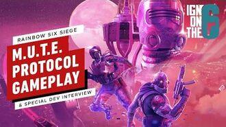 MUTE Protocol Gameplay & Dev Interview - Rainbow Six Siege
