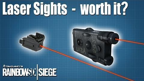 Laser Sights, are they worth using? - Rainbow Six - Siege
