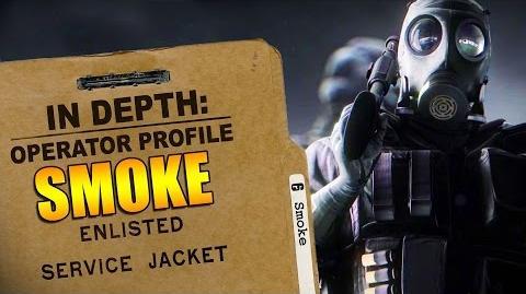 Rainbow Six Siege - Operator Profile SMOKE-0