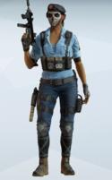 Caveira BOPE Utility Rig Uniform